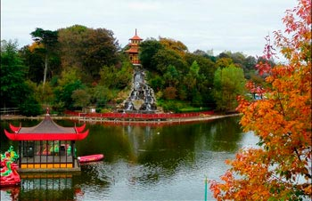 Peasholm Park. Scarborough