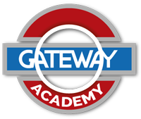 Logotipo Gateway Academy. Aprender inglés en estella